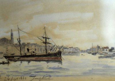 Le port de Sète 1880