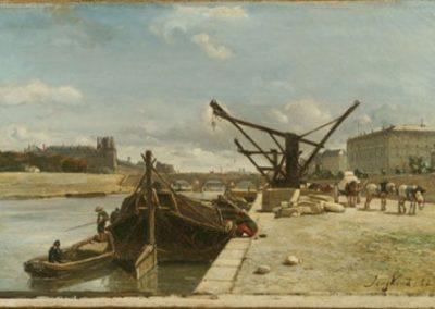 Vue du quai d'Orsay 1852