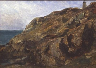 Falaises 1869