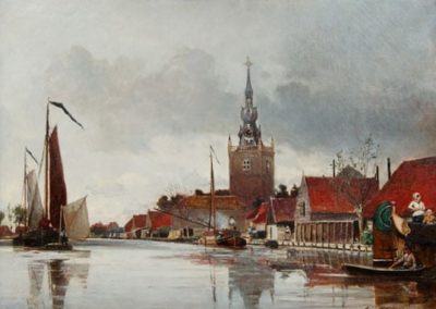 Vue d'Overschie Novembre 1856