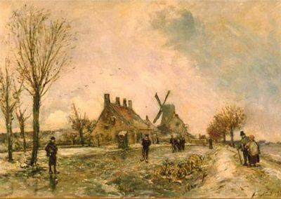 Les patineurs 1869