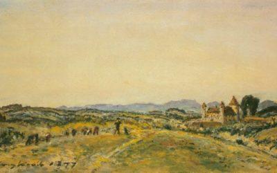Les marches du peintre à travers la vallée