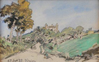 Les carnets de croquis et Château de Virieu