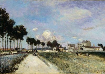Bord de l'Ourcq 1866